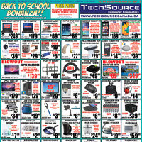 Tech Source - Back To School Bonanza!! Flyer