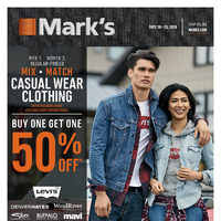 Mark's - 6 Days of Savings - Jeans Always In Style Flyer