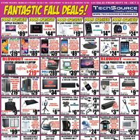 Tech Source - Fantastic Fall Deals! Flyer