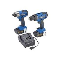 "Mastercraft 20V Li-Ion 1/2"" Drill and 1/4"" Impact Driver Combo Kit"