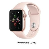 Apple Watch Series 5 44mm Gold GPS