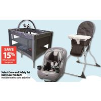 Select Cosco And Safety 1st Baby Gear Products