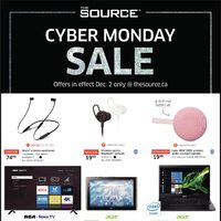 The Source - Cyber Monday Sale & Cyber Week Deals Flyer