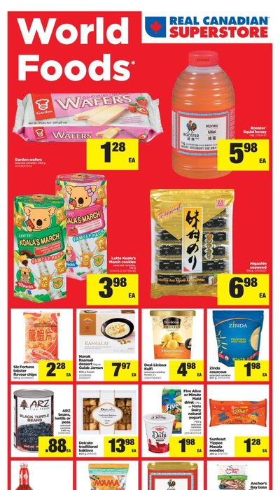 Real Canadian Superstore - World Foods Flyer