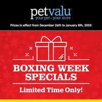 - Boxing Week Specials Flyer