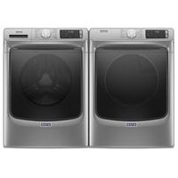 Maytag 5.5 Cu. Ft. I.E.C Front Load Steam Washer And 7.3 Cu. Ft. Electric Steam Dryer