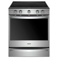 Whirlpool 6.4 Cu.Ft Smart Slide In Electric Range With Bake Technology