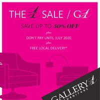 Gallery 1 Furniture - The 1 Sale Flyer