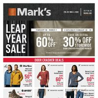 Mark's - 6 Days of Savings - Leap Year Sale Flyer