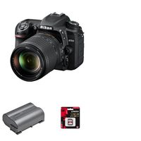 Nikon D7500 Camera Body With 18-140mm ED VR Lens Kit, Rechargeable Battery And 128GB Memory Card