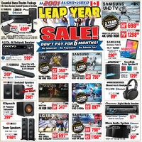 2001 Audio Video - Weekly - Leap Year Sale Flyer