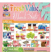 Fresh Value - Weekly Specials - March Sale Flyer