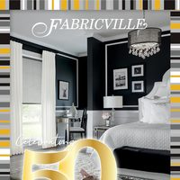 Fabricville - Celebrating 50 Years Flyer