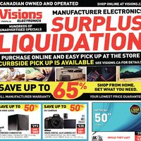 - Weekly -  Surplus Liquidation Flyer