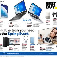 Best Buy - Weekly - Spring Event Flyer