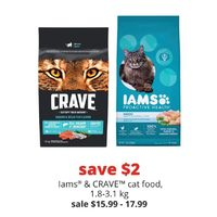 Lams & Crave Cat Food