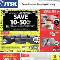 - Summer Clearance Flyer