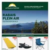 Atmosphere - Outdoor Deals Flyer