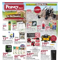 PeaveyMart - Summer In The Country Flyer