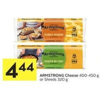 Armstrong Cheese Or Shreds