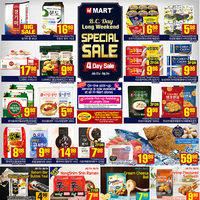 H-Mart - Weekly - Long Weekend Special Sale Flyer