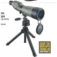 Bushnell Trophy Extreme 20-60x65 Spotting Scope