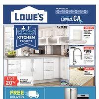 Lowe's - Weekly - Kitchen Project Flyer