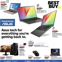 Best Buy - Weekly - Experience ASUS Flyer