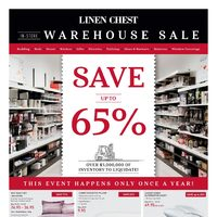 - In-Store Warehouse Sale Flyer