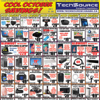 Tech Source - Cool October Savings! Flyer