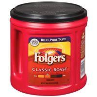 Tetley Orange Pekoe Tea or Folgers Coffee