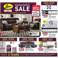 - Managers' Sale Flyer