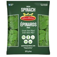 Cooking Spinach or Pc Coleslaw
