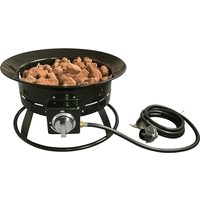 18-1/2 in. Round Portable Propane Fire Pit