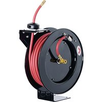 Pro-Point 3/8 In. x 50 Ft Retractable Open Air Hose Reel