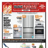 Home Depot - Weekly - Black Friday Continues! Flyer