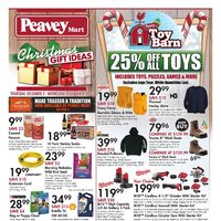 PeaveyMart - Christmas Gift Ideas Flyer