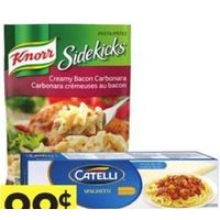 Catelli Pasta or Knorr Sidekicks