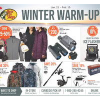 Bass Pro Shops - Winter Warm-Up Sale Flyer