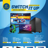 Canada Computers - Switch It Up Flyer