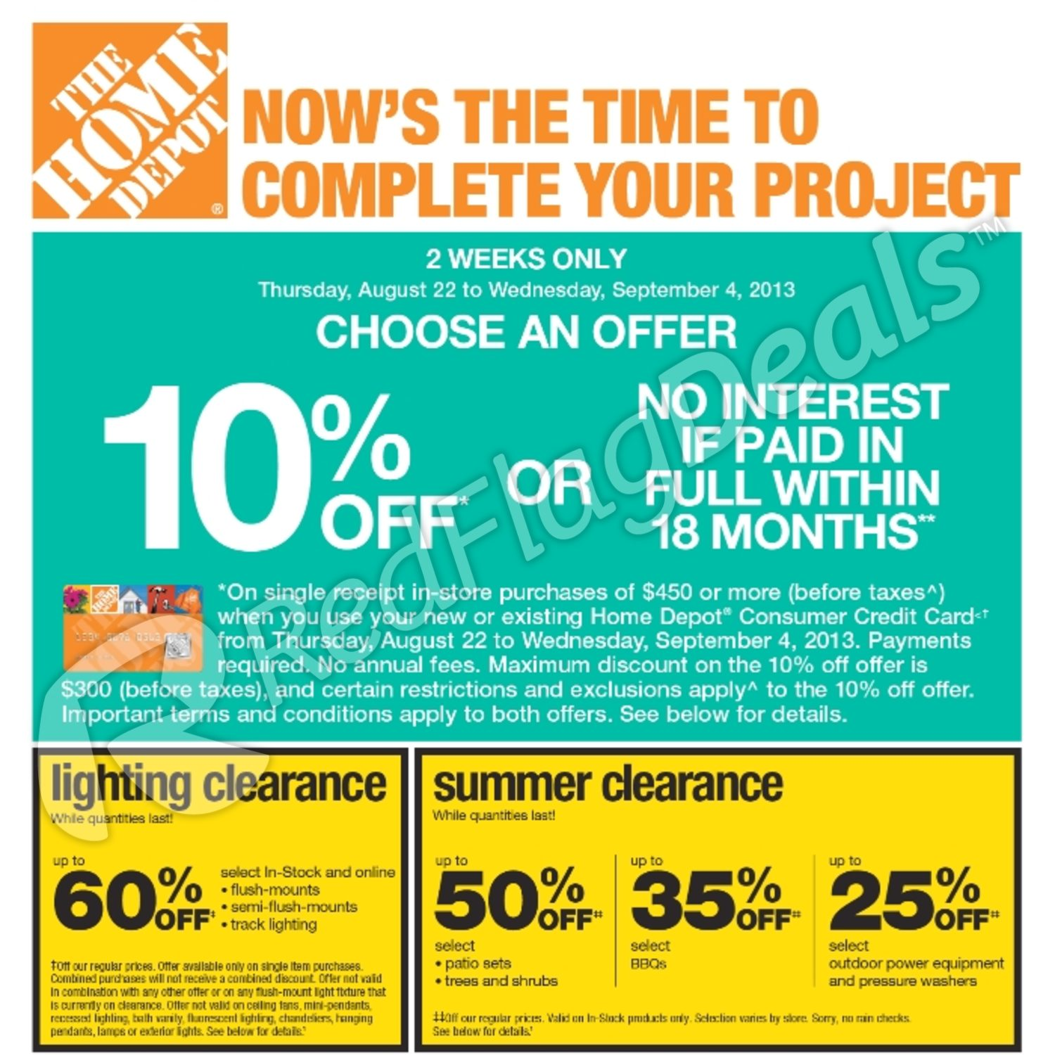 Home Depot Weekly Flyer Weekly Flyer Stock Up With Everyday