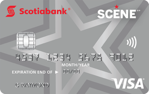 Scotiabank SCENE® Visa* card