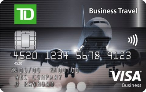 TD Business Travel Visa* Card