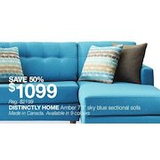 Strange Home Outfitters Distinctly Home Amber 79 Sky Blue Dailytribune Chair Design For Home Dailytribuneorg