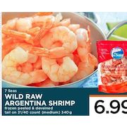 Marketplace Iga 7 Seas Wild Raw Argentina Shrimp Redflagdeals Com