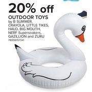 Outdoor Toys By B Summer, Crayola, Little Tikes, Halo, Big Mouth, Nerf Supersoakers, Gazillion & Zuru - 20% off