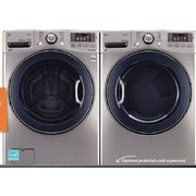 LG Pair 5.2 Cu. Ft. Steam Washer/7.4 Cu. Ft. SteamDryer - $2296.00