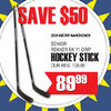 Sher-Wood Senior Rekker Ek 11 Grip Hockey Stick - $89.99 ($50.00 off)