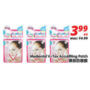 Mediental V-Tox Acculifiting Patch - $3.99
