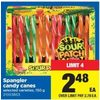 Spangler Candy Canes - $2.48